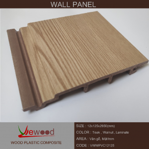 gỗ nhựa PVC12x125