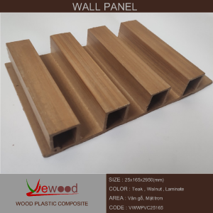 gỗ nhựa PVC 25 165