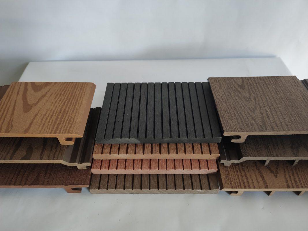 gỗ nhựa ốp tường ngoài trời
